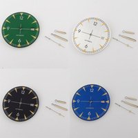 Repair Tools & Kits BLIGER Steel Replacement 33.5MM Watch Dial Hand Set Fit NH35A Luminous Marks