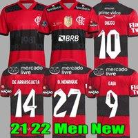 21 22 flamengo jersey 2021 2022 GUERRERO DIEGO VINICIUS JR Soccer Jerseys Flemish GABRIEL B sports football adult men and woman shirt