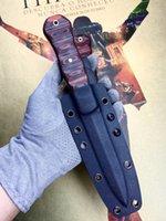 Winkler War Madman VG10 Doubleded Blade Blade прямо нож Высокая твердость кемпинга Открытые ножи коллекция цвет G10 Plus Латунная труба ручка для ногтей