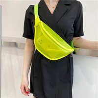 New Women's Of And Spring One-shoulder Leisure 2021 Korean Fashion Summer Bag Outdoor For Version Bags Jelly Western Waist Ne Koswq