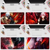 Mouse Pads & Wrist Rests Ken Kaneki Ghoul Anime Large 800x300mm 700x300mm 600x300mm Rubber Pad Tablet Mousepad With Edge Locking