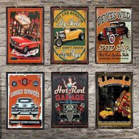 Car Plaque Sign Vintage Metal Tin Signs Poster Decals Plate Painting Bar Club Pub Home Decor Wall 30*20cm 1001(319)a