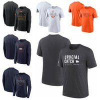 "Denver""Broncos""Men Women Youth 2021 Crucial Catch Performance Football T-Shirt Charcoal"