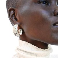 Solememo Design Design Snake Orecchini della goccia della pelle per le donne Geometric Maxi Dichiarazione Dangle Bohemia Brincos Gifts E4526 Chandelier