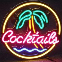 Custom LED Neon Sign Light Cocktail Dreams Flex Neon HandMade Beer Bar Shop Logo Pub Store Club Nightclub