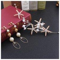 Hair Clips & Barrettes Bride Starfish Headdress Mori Xianmei White Hairband Suit Korean Wedding Dress Accessories