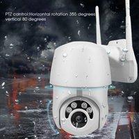 كاميرات WIFI WIFI كاميرا الأمن 1080P PTZ IP في الهواء الطلق سرعة قبة poe موبايل عرض 2MP شبكة مراقبة الدوائر التلفزيونية المغلقة