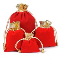 Pouches, & Display Jewelryveet Jewelry Dstring Pouch Bag Fabric Jewellery Cosmetic Gift Packaging Multi-Purpose Small Bags Size Choice Custo