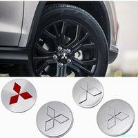 4pcs / set Auto Wheel Hub Cap Center Cover per Mitsubishi Asx Lancer Outlander Eclipse Pajero Sport Mirage Auto Hubcaps Accessori