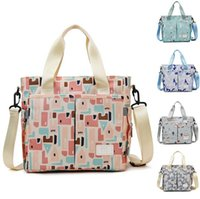 Diaper Bag Baby Waterproof Handbag Canvas Tote Tote for Mom and DadMultifunction Travel Storage Bags Girls Boys