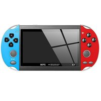 X7 Video Game Player 4.3 inch for GBA Handheld Console Retro Games LCD Display 1800mAh Support Tv-output doubles enjoy 6 hours of continuous