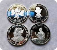 2003-M, 2007-M India 100 Rupias Copiar monedas Monedas conmemorativas-Replica Monedas Monedas Monedas Coleccionistas Insignia