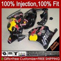 Body Yellow Rouge Injection pour Honda CBR250R 1990 1991 1994 1995 1997 1997 1998 1999 1999 111HC.77 CBR 250RR 25 RR CC 250CC MC22 CBR250 RR 90 91 92 93 94 95 96 97 98 99 Catériel
