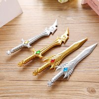 Creative weapons knife and sword gel pen writing pen stationery office school Writing supplies stationery child's toy gifts