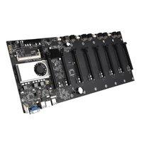 Schede madri BTC-T37 Mining Scheda madre CPU Set 8 PCIE 16X Miner Slot scheda video DDR3 Adattatore di memoria Adattatore VGA Interfaccia ATX 24pin per BTC