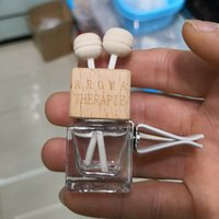 Boş Cam Araba Hava Spreyi Parfüm Şişeleri Fragrance Difüzör Şişe Havalandırma Klipsi ve Sopa ile Satılık