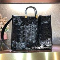 حمل حقيبة سعة كبيرة حزمة FF حقيبة يد الأزياء حقائب الكتف جودة عالية قابلة للإزالة حزام العنبر مقبض مزدوج الداخلي الرمز البريدي الأحدث
