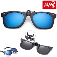 SAYLAYO Place Polarised sunglasses Clip on Myopia Glass for fishing Driving Travel Easy Flip Up lens UV400 protection wholesale