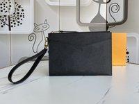 원래 Luxurys 디자이너 숙녀 중간 클러치 백 쇠가죽 채찍의 모노그램 empreinte 가죽 mélanie 지갑 핸드백 여성 가방 지갑 카드 홀더
