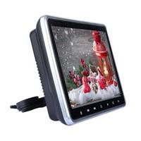 Vidéo Haute-tête Haut-parleur LED Écran de 10,1 pouces Lecteur DVD jeu Slot-in USB Monitor facile Installez Universal HD
