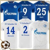 20 21 Huntelaar Soccer Jerseys Kucucu Sports Serdar FC Schalke 04 Harit Raman Camicie da calcio Ozan Harit Home Blue Away Jersey Abbigliamento maschile