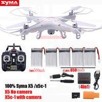 Оригинал Syma X5C-1 RC Quadcopter Вертолет Дроны WiFi камера HD