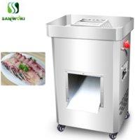 Moedores de carne Máquina de slicer comercial 2200 W de aço inoxidável trituração de frango cortador de legumes