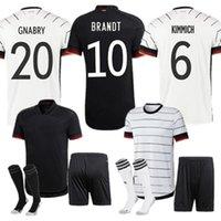Germania Soccer Jerseys Kimmich Kroos Gnabry Werner Draxler Reus Gundogan Brandt Havertz Sané Klostermann Camicia da calcio