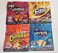Batata Chips Mediges Chegada 500mg Cheetos Maylar Maylar Sacos Ressalable Edibles Doritos Queijo Gummi Worm Saco Embalagem Fritos Ruffles SFG