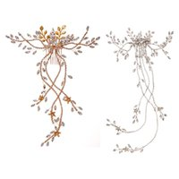 Hair Clips & Barrettes Wedding Clip Comb Flower Pin Crystal Bridal Accessories Tiaras Headpieces For Women Girls