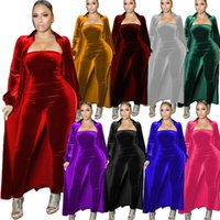 Women plus size Two Piece Pants fall winter clothes sexy Silver fox wool jumpsuits outerwear Cardigan sweatsuit hoodies coat rompers outfits cape bodysuits 1600