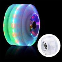 Flash Wheels Färgglada Roller Skate Light Night Lysous Skateboard Lights för vuxna Kids Modules LED