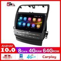 9 pulgadas Android 10.0 Coche DVD Radio Estéreo para Acura TSX 2004-2008 GPS Soporte de navegación Control de volante Táctil Full Touch 1024 * 600
