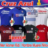 Jersey de football Cruz Azul 20 21 Liga MX Edition commémorative spéciale de Futbol Club Aguilar Caraglio Montoya Mendez Camiseta de Fútbol Men Femmes Kids Kits Chemise de football