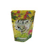 Neue größe Kush Rush Exotics Taschen wiederveralable Reißverschlussdichtung für Frische kinderfeste Blumen Verpackung 3,5g oder 7g Mylar Bags Kush Rush Mylar