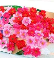 7cm disponível Artificial Poppy Poppy Flor Heads para DIY Decorativo Garland Acessório Casamento Festa Headware