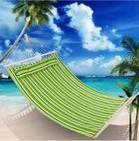 Hammock outdoor swing single and double children anti rollover adult canvas thickened camping indoor family dormitory hanging chair