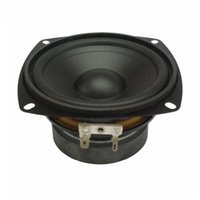 Portable Speakers 4 Inch Audio Sound Speaker Driver Hifi Ohm 30W Square Mid-Bass Waterproof For Outdoor Home Theater Loudspeaker