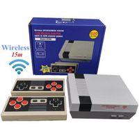 620 في 1 جديد 8 بت 2.4 جرام لاسلكية فيديو لعبة وحدة يمكن تخزين 620 ألعاب الرجعية التلفزيون وحدة التحكم مربع av الناتج المزدوج لاعب تحكم 111