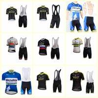 Mitchelton Takımı Bisiklet Kısa Kollu Jersey (Bib) Yaz Dağ Bisikleti Kiti Nefes Hızlı Kuru Erkekler Binme Gömlek Şort Set B613-20
