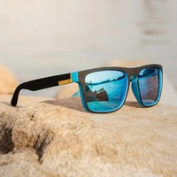 Güneş Gözlüğü Marka Tasarımcısı Polarize Erkekler Kadınlar UV400 Erkek Sürüş Gözlük Kare Güneş Gözlükleri Klasik Balıkçılık Gözlük