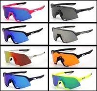 16 اللون oo9448 sutro الدراجات النظارات الرجال الأزياء الاستقطاب tr90 النظارات الشمسية الرياضة الجري نظارات 3 أزواج عدسة مع حزمة