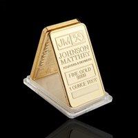 Monete souvenir Regno Unito 1 oncia Troy Fine Gold 9999 Collectibles Coin Commemorative Johnson Matthey Assayers Refiner Replica Golden Bullion Bar