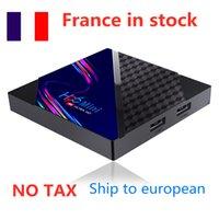 France in stock 10pcs lot H96 Mini V8 RK3228A Android 10.0 TV Box 2.4ghz wifi 100m lan 4k h,265