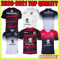 Top Toulouse Munster City Rugby Trikots 20 21 Home Away Stade Touousain 2020 Liga Jersey Lentulus Shirt Freizeit Sporttraining S-5X
