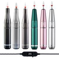 35000 rpm elektrische maniküre maschine tragbare usb nagelbohrer für acryl gel polnisch professionelle nägel fräsen files salon tool