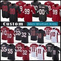 30 James Conner 99 JJ J.J. Watt jerseys de futebol personalizado 10 Deandre Hopkins 1 Kyler Murray Larry Fitzgerald 55 Jones ArizonaCardeais.Budda Baker Homens Mulheres Crianças