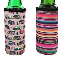 Neopreno Slim Beer Can Cooler Tall Soporte de Stubby Titulares Difíciles Cerveza Bolsas de enfriador de cerveza Se adapta a 12oz Slim Energy Bebida Cerveza 253 V2