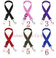 Dog Apparel 50PCS Adjustable Cat Pet Car Safety Seat Belt Collars