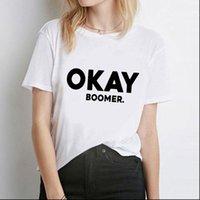 Bayan T Shirt Tamam Boomer Baskılı Kadın Gömlek Serin Moda Kısa Kollu O Boyun Casual Gevşek Noel Tops